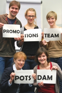 PoGS-Initiative Promotionsteams - Team Potsdam