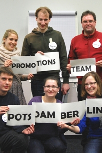 PoGS-Intiative Promotionsteams - Team Potsdam-Berlin